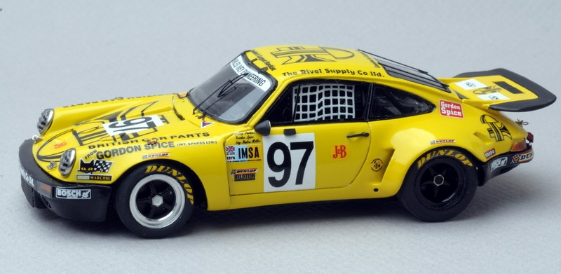 Porsche 911 Carrera RSR Le Mans 78 n°97 Rivet Supply
