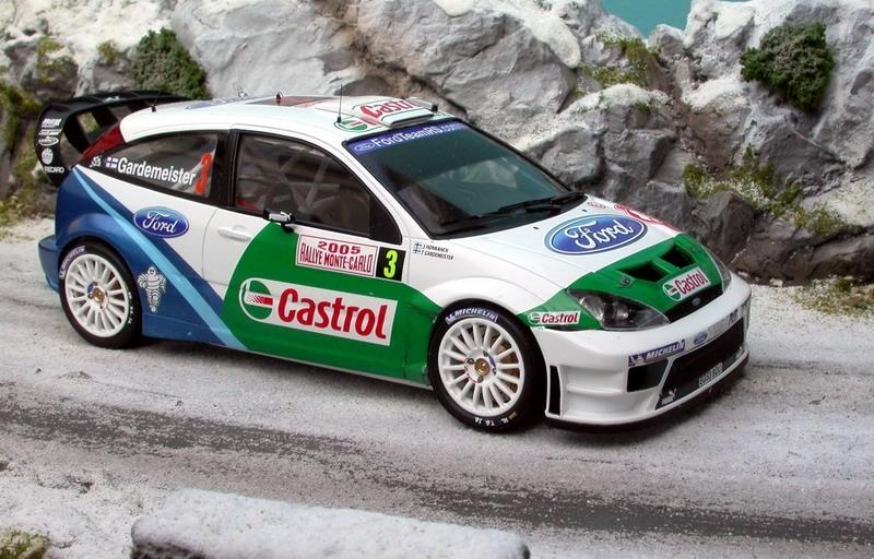 Boutique Renaissance-models - Ford Focus WRC RS04 Castrol ...
